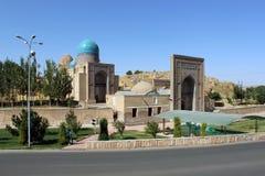 Ubekistan,撒马而罕 免版税图库摄影