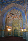 Ubekistan, μωσαϊκό του Σάμαρκαντ Στοκ Φωτογραφίες