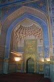 Ubekistan, mosaico de Samarkand Fotos de Stock