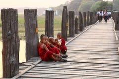 Uben Bridge Royalty Free Stock Images