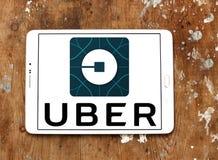 Uber logo Royalty Free Stock Photo