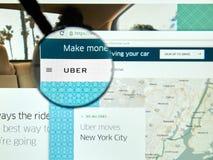 Uber online service Stock Photo
