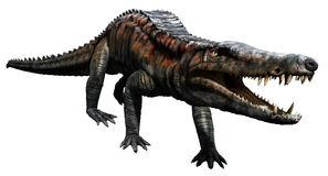Uberabasuchus Royalty Free Stock Photo