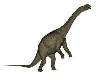 Uberabatitan dinosaur - 3D render Royalty Free Stock Images