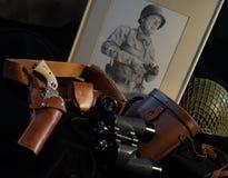 Uberti Patton αναμνηστικό Στοκ εικόνες με δικαίωμα ελεύθερης χρήσης