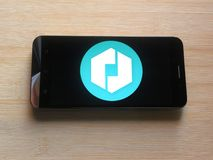 Ubervloot app royalty-vrije stock foto