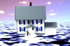 ubezpieczeń na wypadek powodzi Obraz Stock