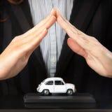 Ubezpieczenia samochodu i karambolu zrezygnowania awaryjni pojęcia Zdjęcia Royalty Free