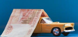 ubezpieczenia samochodu zakupu sprzedaż Fotografia Royalty Free