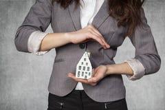 Ubezpieczenie dla twój domu Obrazy Stock