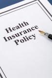 ubezpieczenie zdrowotne Obraz Stock