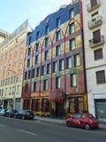 Ubicación colorida de Milán Imágenes de archivo libres de regalías