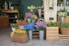 Ubicación de la floristería para la fotografía Fotos de archivo