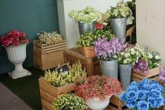 Ubicación de la floristería para la fotografía Imagen de archivo
