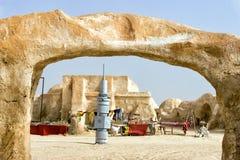 Ubicación de la ONG Jemel Star Wars en Túnez imagen de archivo libre de regalías