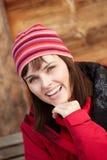 Ubierająca Dla Zimnej Pogody w średnim wieku Kobieta Zdjęcie Royalty Free