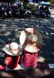 ubierająca rodzina ubierać p Obrazy Royalty Free
