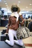 ubierający atrapy żeński mannequin sklep Obrazy Stock