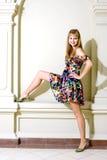 ubierz się modny dziewczyna portret fotografia royalty free