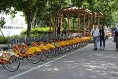 Ubike στην πόλη του Ταιπέι Στοκ Εικόνες