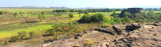 Ubirr, εθνικό πάρκο kakadu, Αυστραλία Στοκ εικόνα με δικαίωμα ελεύθερης χρήσης