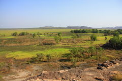 Ubirr, национальный парк kakadu, Австралия Стоковые Фото