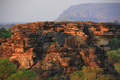 Ubirr, kakadu nationaal park, Australië Stock Foto's