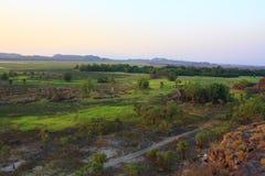 Ubirr, kakadu nationaal park, Australië Royalty-vrije Stock Fotografie