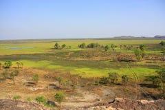 Ubirr, kakadu nationaal park, Australië Royalty-vrije Stock Foto's