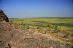 Ubirr, kakadu nationaal park, Australië Royalty-vrije Stock Afbeelding