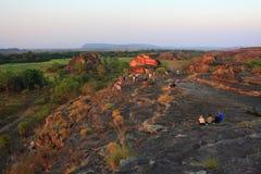 Ubirr kakadunationalpark, Australien Fotografering för Bildbyråer
