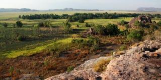 Ubirr, Nationaal Park Kakadu Royalty-vrije Stock Foto