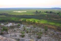 Ubirr, parco nazionale di kakadu, Australia Fotografia Stock