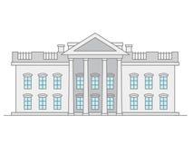 Ubited States Supreme Court building Royalty Free Stock Photo
