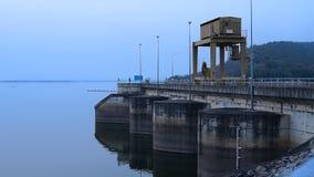 Ubolratana dam. Khon Kaen, Thailand stock video footage