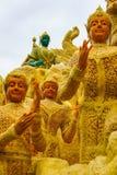 Ubon-Kerzen-Festival in Thailand Lizenzfreies Stockfoto
