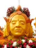 Ubon Ratchathani świeczki festiwal zdjęcia royalty free
