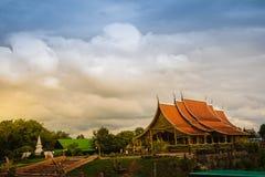 Ubon Ratchathani, Tailândia - 28 de julho de 2017: Paisagem bonita imagens de stock royalty free