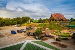 Ubon Ratchathani, Tailandia - 28 luglio 2017: Bello paesaggio fotografia stock libera da diritti