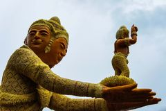 Ubon stearinljusfestival i Thailand Royaltyfri Foto