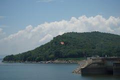 Ubonrat水坝, Khonkaen,泰国 库存图片
