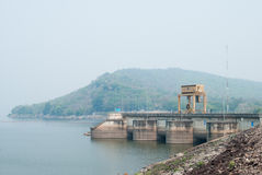 Ubonrat dam outdoor, Khon Kaen, Thailand Royalty Free Stock Image