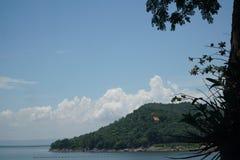 Ubonrat fördämning, Khonkaen, Thailand arkivfoto