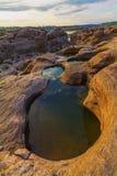 Ubonratchathani 3000 Bok峡谷  库存照片