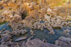 Ubonratchathani 3000 Bok峡谷  免版税库存照片