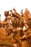 Ubonratchathani, Tailândia - 12 de julho: Festival da vela de Tailândia sobre Fotos de Stock