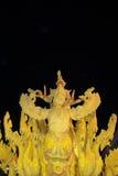 Ubonratchathani, Tailandia - 12 luglio: Festival della candela della Tailandia sopra Fotografia Stock