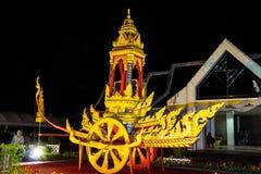 Ubonratchathani, Thaïlande - 12 juillet : Festival de bougie de la Thaïlande dessus Photos stock