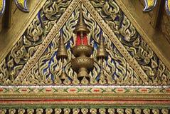 Ubosot central, coordonnées d'Emerald Buddha Temple, Asie Photographie stock