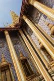 Ubosot columns Royalty Free Stock Image